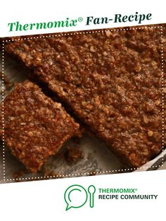 Recipe carrot cake slice by romyblecher, learn to make this recipe easily in your kitchen machine and discover other Thermomix recipes in Baking - sweet. 5 Recipe, Baking Tins, Recipe Community, Food N, Bellini, Nut Free, Carrot Cake, Cake Cookies, Sweet Recipes