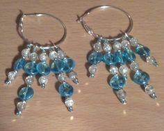 Hoop Bead Dangle Earrings $15