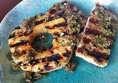Pineapple Jerk Tofu