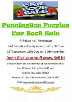 Car Boot Sale, Herb Planters, Puzzles, Chill, Picnic, Herbs, Events, Tea, Fruit