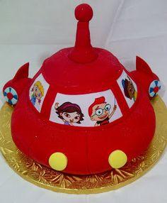 Alys Cakes & Bakery: Little Einsteins Rocket Ship Cake