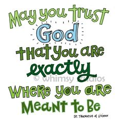 Im trusting him with all I have , and I know that if im not he will guide me in the right direction with the right person and we will all be happy:-):-)