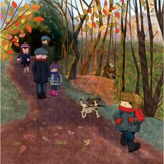 julia woolf - professional children's illustrator, view portfolio