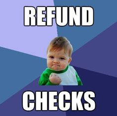 Financial aid refund checks go out today; for first-time loan borrowers they'll be mailed Oct. 5.