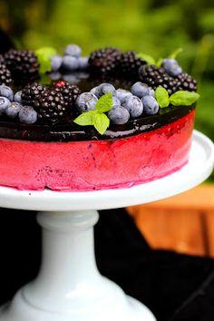 Cheesecakes, Blackberry, Acai Bowl, Panna Cotta, Bakery, Fruit, Breakfast, Ethnic Recipes, Food