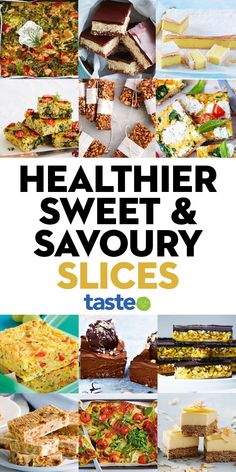 Healthy Savoury Snacks, Healthy Veg Recipes, Whole Food Recipes, Snacks To Make, Easy Food To Make, Healthy Slices, Easy Cooking, Cooking Recipes, Australian Food