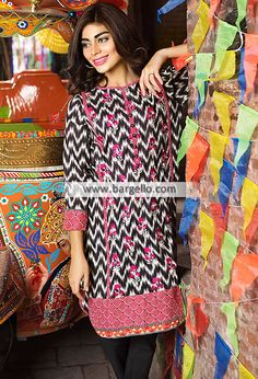 WL9179 Cool Summer Dresses Khaadi Lawn Eid Collection 2015 - UK USA Canada Australia Saudi Arabia Bahrain Kuwait Norway Sweden New Zealand Austria Switzerland Germany Denmark France Ireland Mauritius and Netherlands