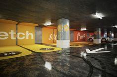 Parking Concept by Daniel & Andrew, via Behance