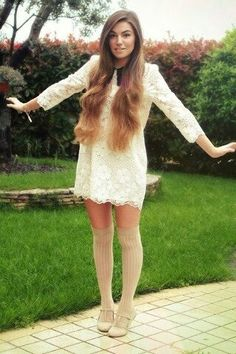 This outfit is amazing I want it I love cutiepiemariza's style and hair