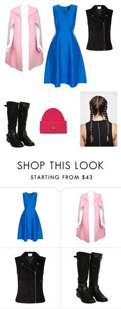 """""""Anna's Winter Trek Up the North Mountain to Find Elsa"""" by www-nyny ❤ liked on Polyvore featuring Paul Smith, Pauline Trigère, Pilot and Acne Studios"""