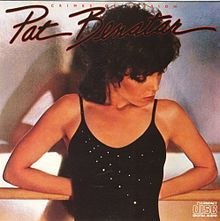 "Pat Benatar...I love 80's Pat..love this album cover..love the song ""You Better Run"".."