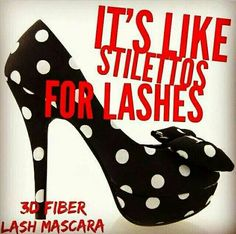 Check it out...I can now buy shoes with the money I am making selling 3D Fiber Lash Mascara. Www.getyourlaashes.ca
