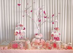 Girl's_party_lolly_buffet_pink_white_butterfly_christening_lolly_bar