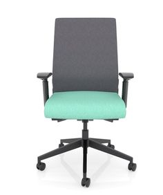 This affordable task chair offers the ergonomic features needed to stay healthy and effective during full 8 hour work days. Ergonomic Office Chair, Home Office Chairs, Good Posture, Chairs For Sale, Grey Fabric, Stay Healthy, Chair Design, Home Goods, Interior Design