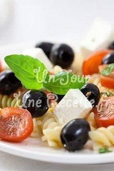 Photo de la recette Salade de pâtes à la fêta