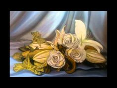 underpainting technique - Rose Oil Painting - YouTube