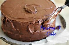 After frosting so many cakes for so many years, I found these are the best steps to frosting a single or double layer cake.Continue reading » Share this:Share on Facebook (Opens in new…