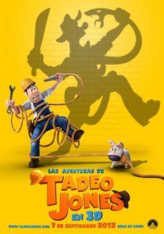 """""""Las aventuras de Tadeo Jones"""" la última película española de animación"""