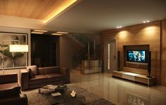 Living Room by Overstone on DeviantArt