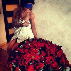 Bouquet of roses surprise