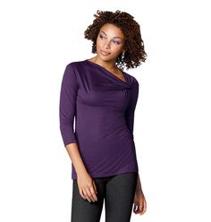 Side Knotted Tunic in Womens  SAVE 40% While Supplies Last  Reg.$24.99  Sale$14.99