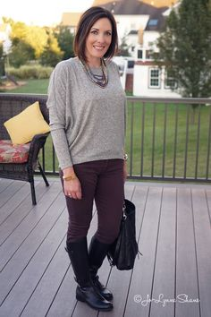 Fall Fashion for Women Over 40: Casual Outfit Ideas