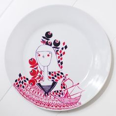 TokyoBunnie: Krisatomic Hand-Painted Plates