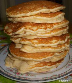 Reteta culinara Pancakes din categoria Dulciuri. Cum sa faci Pancakes Comfort Foods, Latte, Foodies, Pancakes, Breakfast, Sweet, Desserts, Banana, Morning Coffee