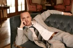 Aaron Paul love to come home and find him their;D!