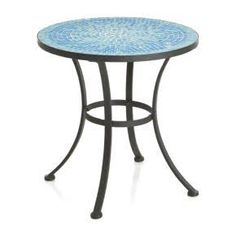 Brant turkish tile folding chair crate and barrel porch crate and barrel round side table google search workwithnaturefo