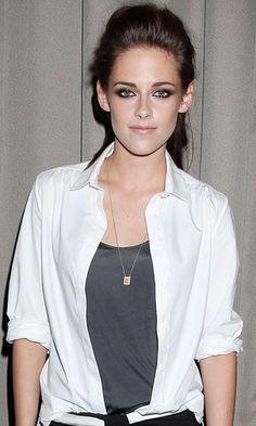 Get Kristen Stewart's voluminous ponytail