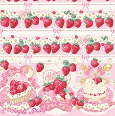"""Angelic Pretty """"Strawberry Whip OP (2016 2nd Release)"""""""