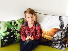 #youngestfanever #collecting #cushions #stagbeetle and #hare #gots #vegan #fair #wantsmore // #jüngsterfan #sammlung #kissen #hirschkäfer #feldhase #hase #bio