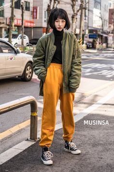 29 Ideas For Style Korean Cute Korean Fashion Summer, Japanese Street Fashion, Asian Fashion, Set Fashion, Look Fashion, Fashion Outfits, Tokyo Fashion, Aesthetic Fashion, Aesthetic Clothes
