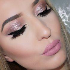Amazing Wedding Makeup Tips – Makeup Design Ideas Wedding Makeup Tips, Natural Wedding Makeup, Bride Makeup, Pink Makeup, Eye Makeup, Hair Makeup, Gorgeous Makeup, Pretty Makeup, Makeup Inspo