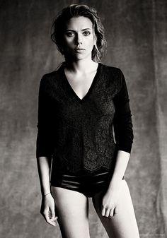 Scarlett Johansson by Paolo Roversi • 2013