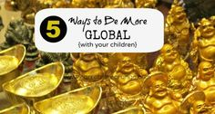 5 Ways to Be More Global with Your Children. Fantastic resource with great ideas and free printable passport, etc. Montessori Classroom, Montessori Activities, Classroom Activities, Activities For Kids, Teaching Geography, World Geography, Learning A Second Language, Global Awareness, Toddler Fun