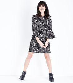 Bring folk-style florals to your wardrobe this season with this @NewLookFashion  tiered smock #dress