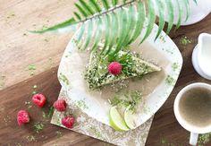 Avocado Limetten Kuchen