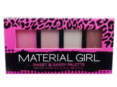 Material Girl Sweet & Sassy Palette & Grab& go  Eye Showdows lot of 4 pc #MaterialGirl