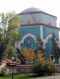 Yeşil Türbe (Green Tomb), Bursa, Turkey (1421)