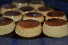 Bite-sized Flan! It was so good! I think I will make it again soon!