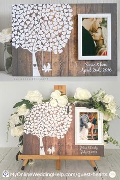 Weddings, want extra charming wedding pointers, stopover the image now. Reception Table Decorations, Wedding Reception Tables, Beach Wedding Favors, Card Box Wedding, Tree Wedding, Guest Book Tree, Wedding Guest Book Alternatives, Wedding Ideas, Marrying My Best Friend