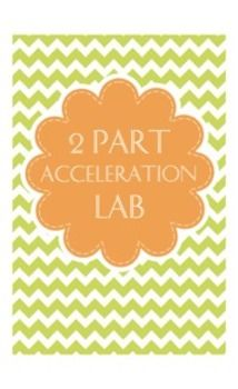 This is a great two part lab that can be done over 3 or 4 days (Depending on your classes etc). The first part of this lab is a directed activity on acceleration with small toy cars (I use hot wheels).