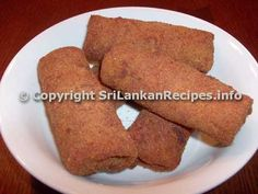 Sri Lankan Pan Rolls (Chinese Rolls). Absolutely divine, possibly the best snack in the world!