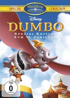 Der Dumbo ist ein ganz besonderer Elefant, denn seine großen Ohren eignen sich hervorragend zum Fliegen.