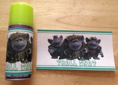 Troll snot boys favor idea (silly string)