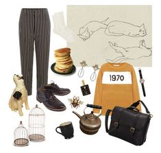 warm kittens by najmilsza on Polyvore featuring polyvore fashion style Bella Freud Isabel Marant MANGO Massimo Dutti ClaireChase Gucci Shinola Gerson Antica Farmacista clothing