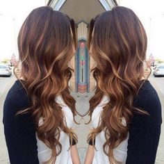Hair coloration ideas for brunettes