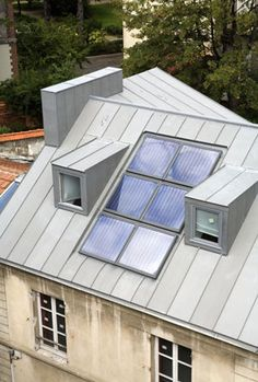 External View of Velux Rooflights